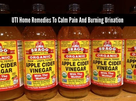 uti home remedies to calm and burning