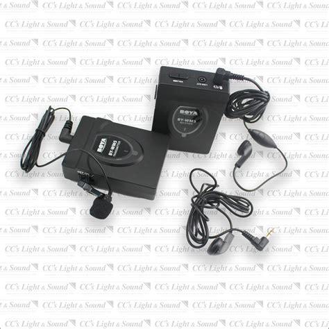 Mic Boya By Wm 5 Wireless For Camerahandy Shooting boya wm5 pro battery operated wireless