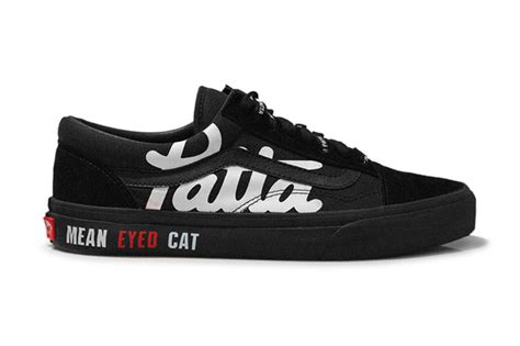 patta beams vans skool eyed cat hypebeast