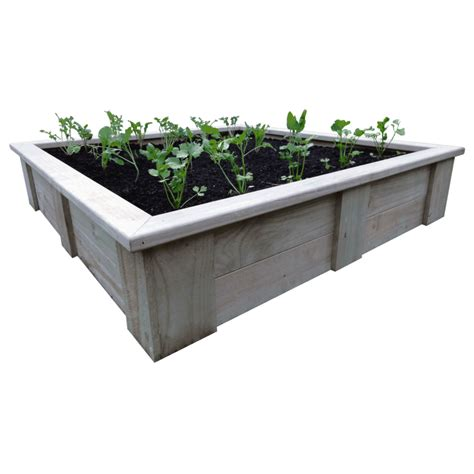 Bed Planter by Raised Vegetable Planting Bed 1500l X 1500w X 330h