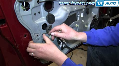 how to change a window electric motor on a 1988 subaru xt how to install replace front window regulator 1999 06 vw volkwagen jetta golf youtube