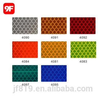 printable reflective stickers 3m diamond grade prismatic reflective sheet reflective
