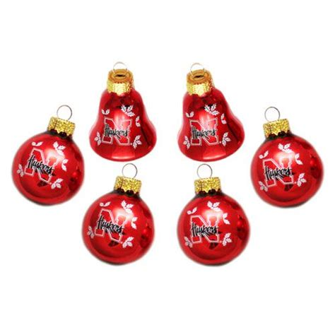 university of nebraska christmas ornaments