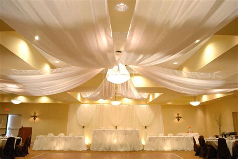 wedding draping prices 6 panel sheer voile 30ft ceiling draping kit 62 feet wide