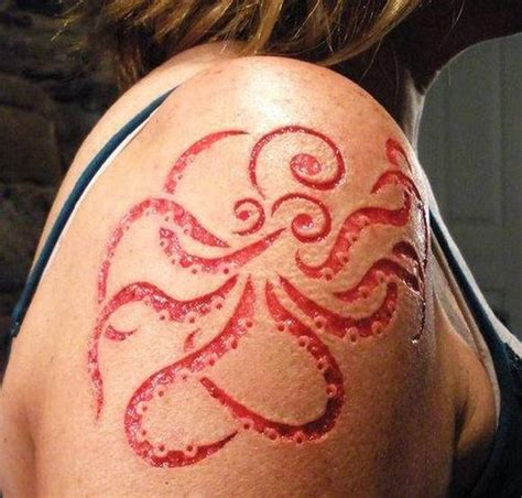 scariest tattoos on body crazy pics