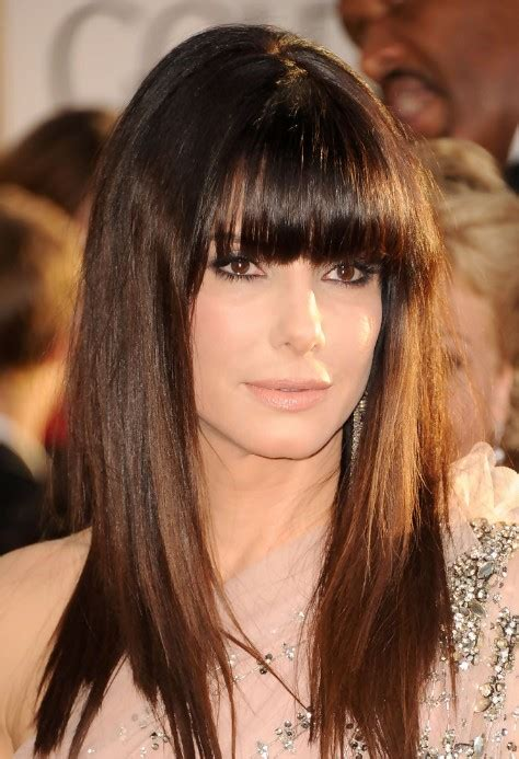 blunt fringe hairstyles hairstyle with blunt bangs 2013 trendy mods com