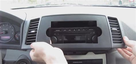 jeep grand sound system upgrade how to remove a 2005 2006 2007 jeep grand radio