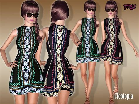 Oasis Catwalk Preview cleotopia s free oasis print catwalk dress