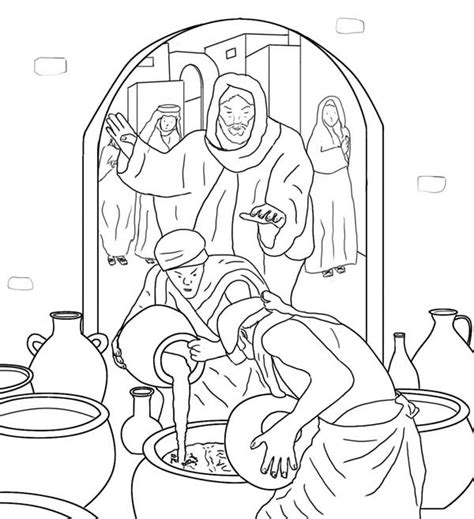 coloring pages jesus first miracle 12 images of believe in miracles coloring pages yoga