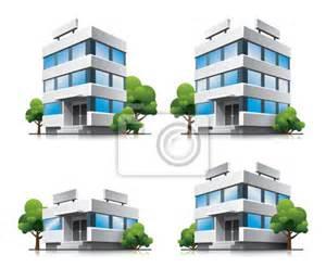 papier peint quatre immeubles de bureaux de dessin anim 233