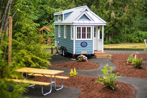 Ellen Sturm Niz by Mt Hood Tiny House Village Tour Oregon Tiny House Rentals