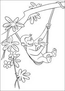 curious george coloring page free coloring pages of der