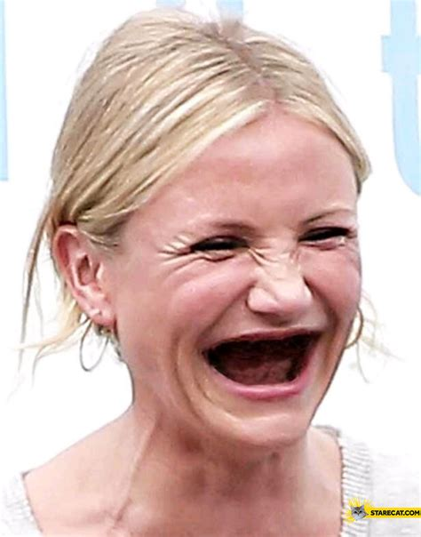 cameron diaz without teeth starecat com