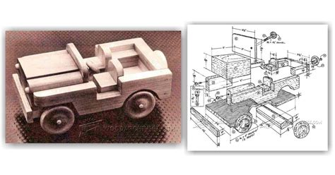 wooden toy jeep plans woodarchivist