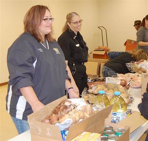Volunteering At A Food Pantry by The Central City Republican Nonpareil Pantry Hits The Road