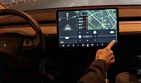 Tesla Interior Screen by Tesla S Model 3 Air Vent Is A Work Of That S