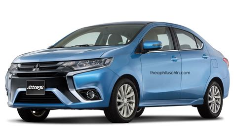 mitsubishi attrage 2016 colors mitsubishi attrage to wear a chrysler badge in mexico