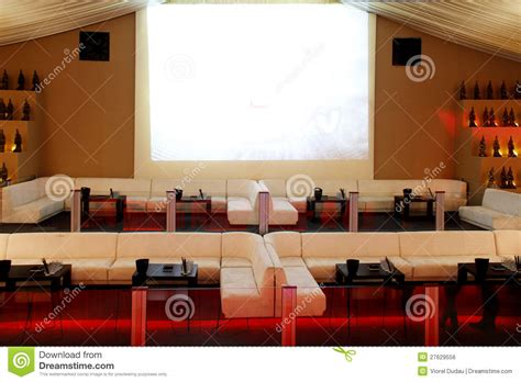 Interior Leather Bar Free by Empty Bar Royalty Free Stock Image Image 27629556