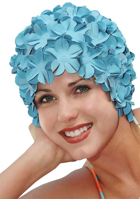 Flower Swim Cap swim cap retro petal flower swimming caps swim cap