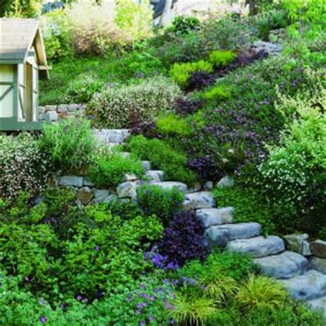 sloped backyard solutions 187 best images about garden on pinterest
