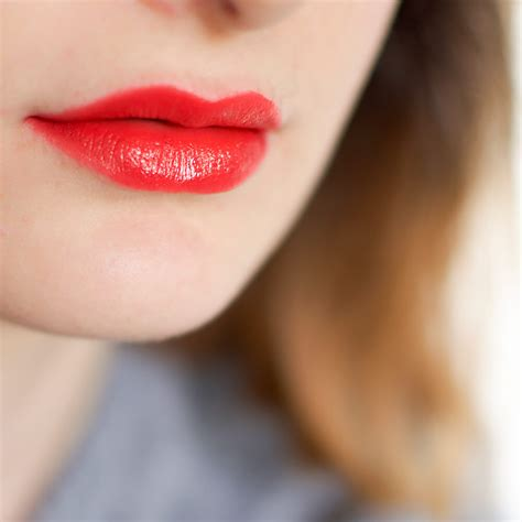Lancome Matte Shaker 186 Magic Orange lancome matte shaker review and swatches lipstick a day