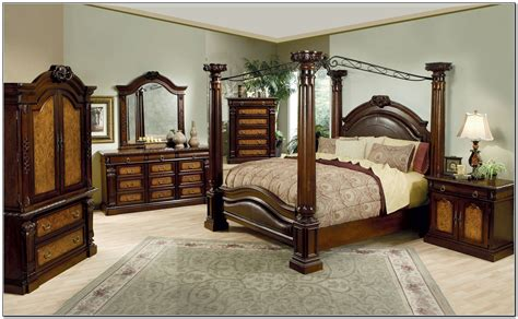 canopy bedding sets varnished brown wooden canopy bed with curving back combined with four poles and brown