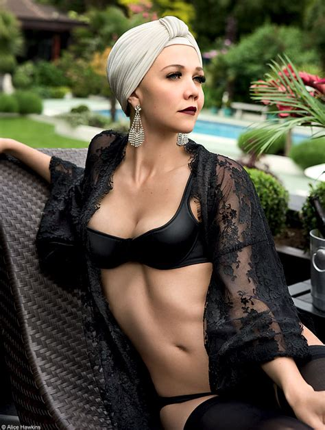 Maggie Gyllenhaal For Provocateur by Maggie Gyllenhaal Shocked At Pics Page 2