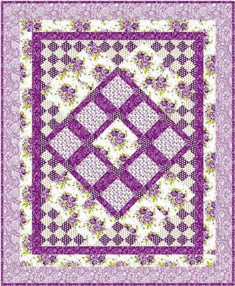 Lavendar Quilt by Scent Of Lavender Quilt Pattern Sm 119 Intermediate