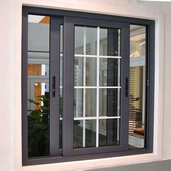Tralis Jendela Minimalis Design Request new design aluminum sliding window with sub frame buy