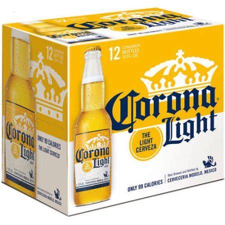 12 pack corona light corona light beer 12 pack 12 fl oz walmart com