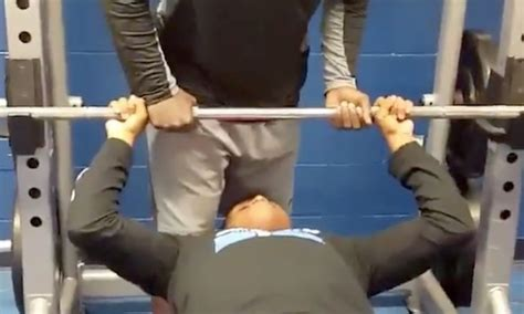 bench press goals here s why you should never get too cocky at the gym