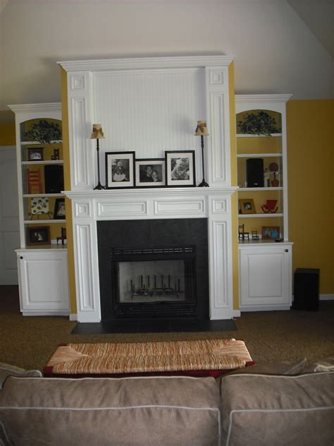 bookcases around fireplace white oak wood bookcase cabinets and fireplace