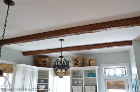 faux beams home stories a to z kitchen with az faux beams home stories a to z