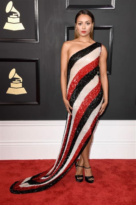 Which Grammy Look Was Most Fab by Grammys Graham Looks Fab In Stripes Go Fug Yourself
