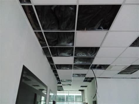 coibentazione soffitto creazione uffici in fondo commerciale idee imbianchini