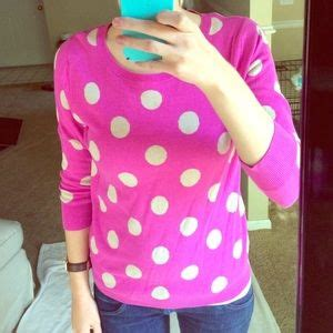 Sweater Malilkids Grey Dot Pink navy whimsical mint grey polka dot sweater from