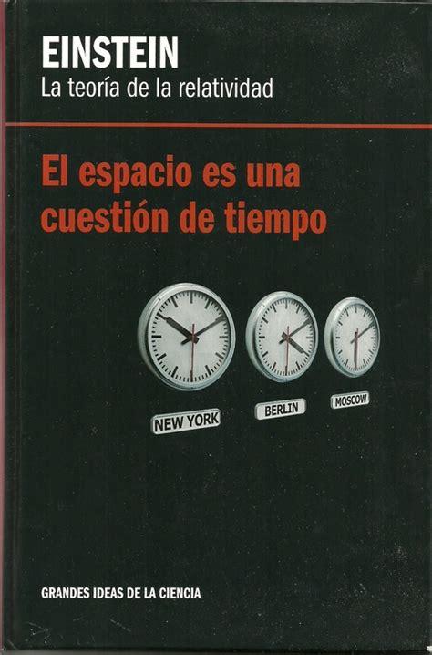 libro todo es cuestin de el espacio es una cuesti 211 n de tiempo blanco laserna david sinopsis del libro rese 241 as