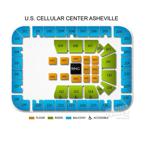 us cellular seating us cellular center asheville seating chart seats