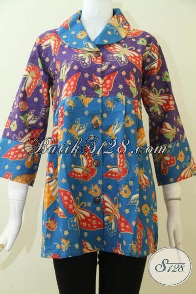 Baju Pesta Wanita Ungu pakaian batik pesta dan kondangan wanita dewasa blus