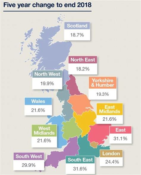 house prices will rise 25 7 by 2018 savills predicts