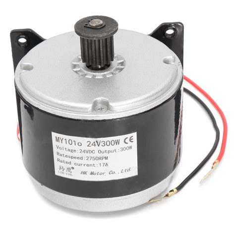 24v Electric Motor by 24v 17a 300w 2750rpm Brushed Electric Motor For E Bike