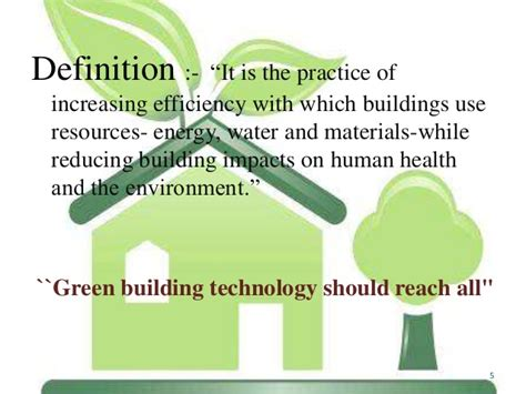 Energy Efficient Home Construction by Green Building Materials