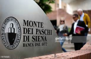 banca monte dei paschi di siena spa mps banca monte dei paschi di siena stock photos and pictures