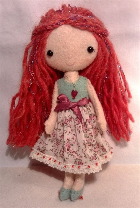 pattern for yarn doll gingermelon pocket pixie felt doll yarns patterns and