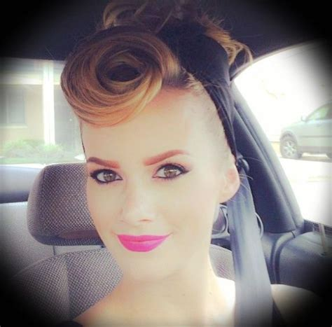 cute maturity woman pin up hair styles pinup hair rockabilly hairstyles pinterest style