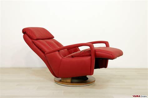 in poltrona poltrona relax manuale moderna reclinabile con girevole