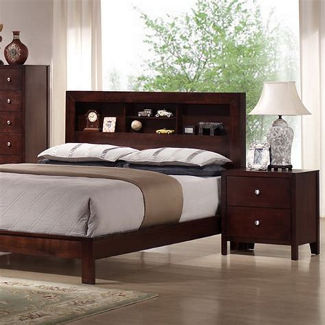 montana 5 bedroom set bookcase bed mahogany