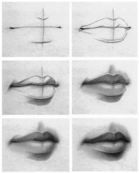 dibujos realistas tutorial c 243 mo aprender a dibujar labios paso a paso de cualquier