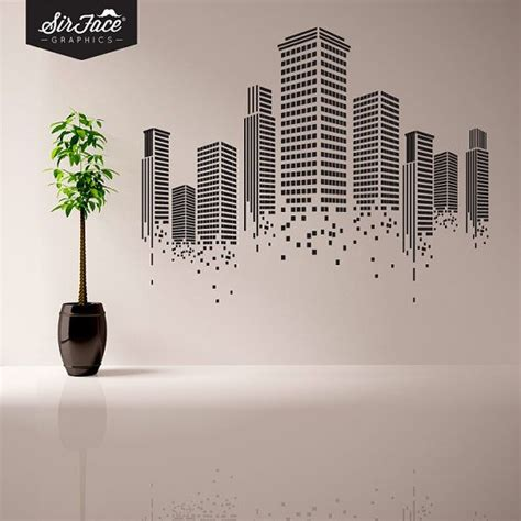 graphic wall stickers best 25 office walls ideas on