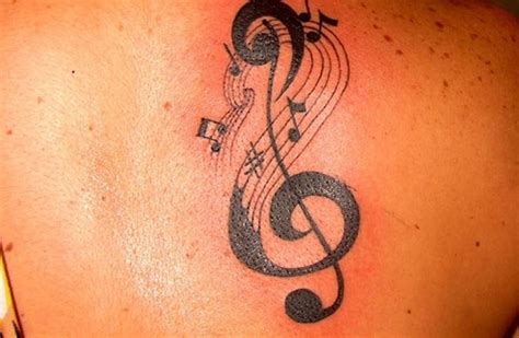 music clef tattoo treble clef is for and so are these time defying tattoos